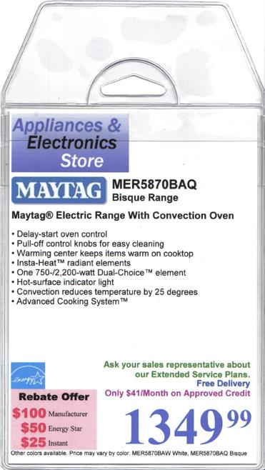 Maytag coupons canada